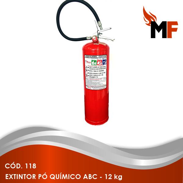 Extintor Pó Químico ABC - 12 kg