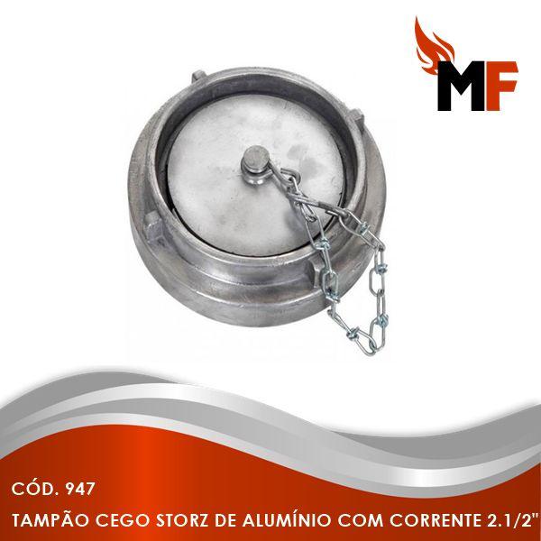 Tampão Cego Storz de Alumínio com Corrente 2.1/2
