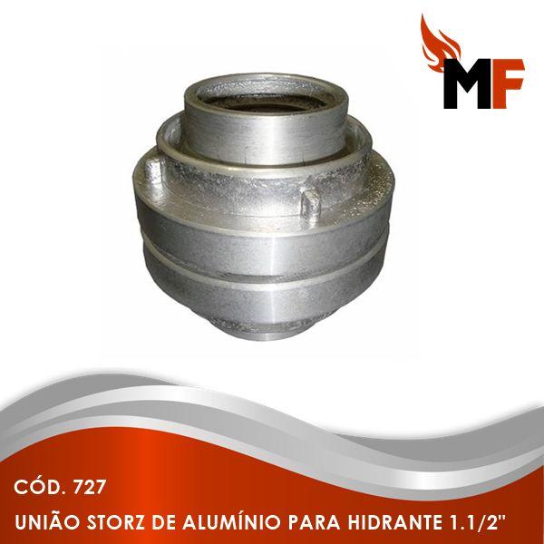 União Storz de Alumínio para Hidrante 1.1/2