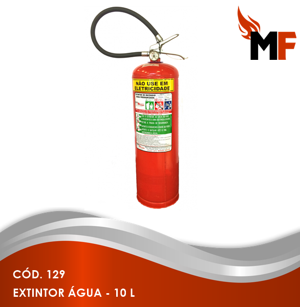 *Extintor Água - 10 L