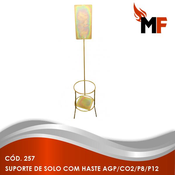 Suporte de Solo com Haste AGP/CO2/P8/P12
