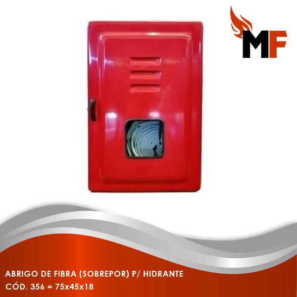 Abrigo de Fibra Sobrepor para Hidrante