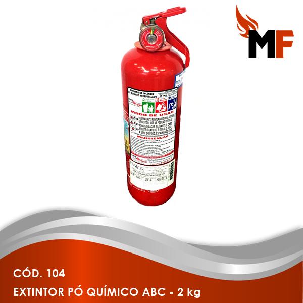 *Extintor Pó Químico ABC - 2 kg
