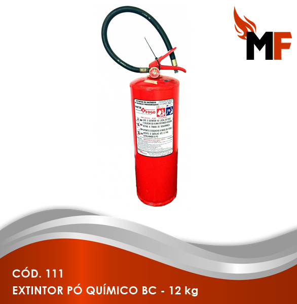 *Extintor Pó Químico BC - 12 kg